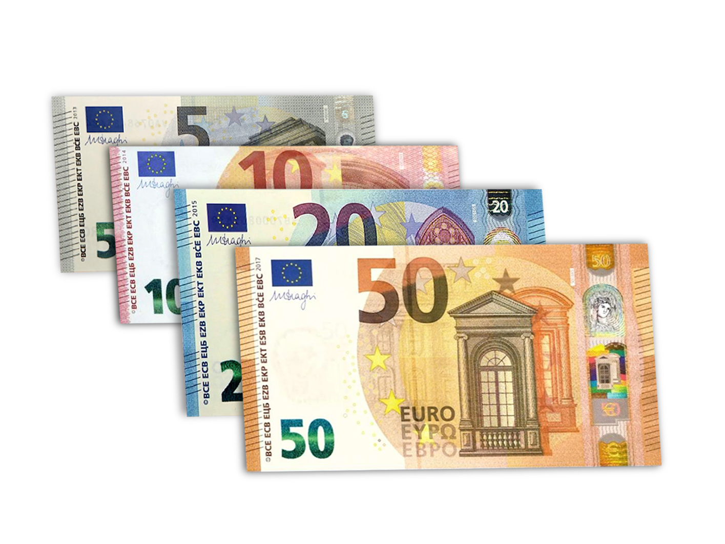 new 50 euros note software for the counterfeit detector new chicago