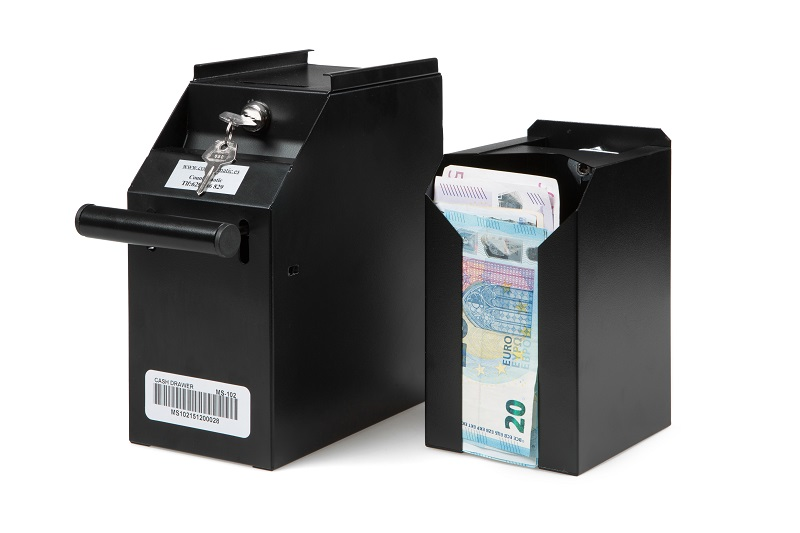 Drop Box Safe at the Point of Sale to keep your Notes Secure