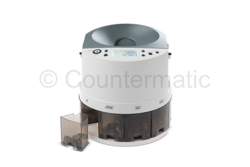 Euro Coin Sorter & Counter Counter 5000