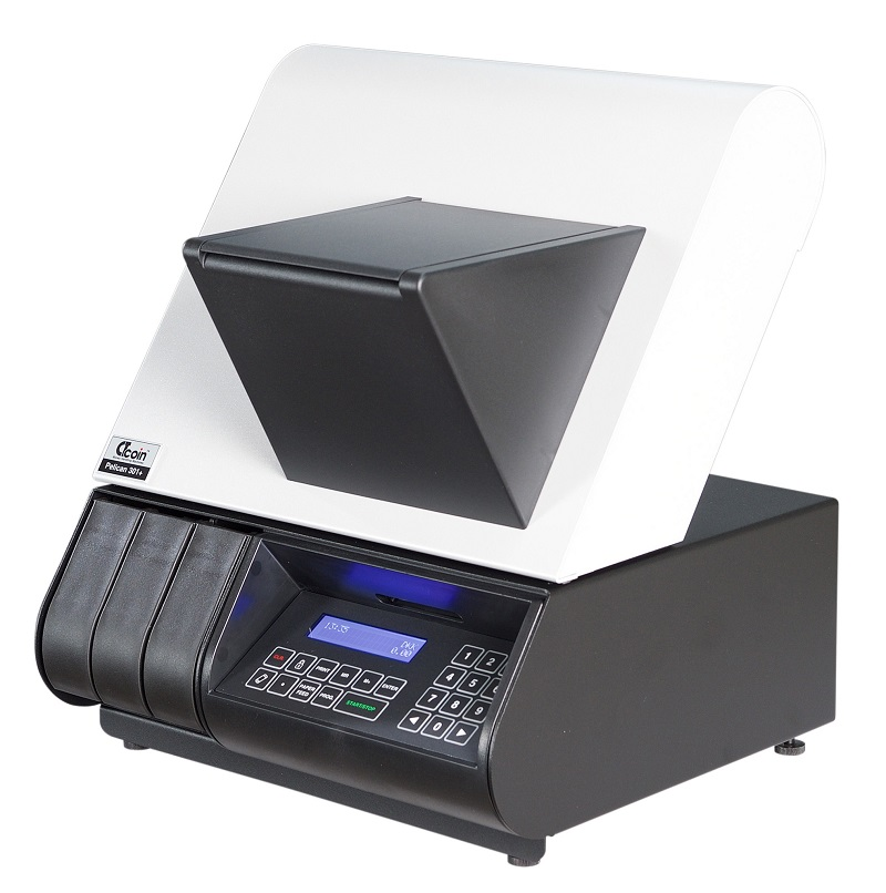 Pelican 301 Mixed coin counter machine