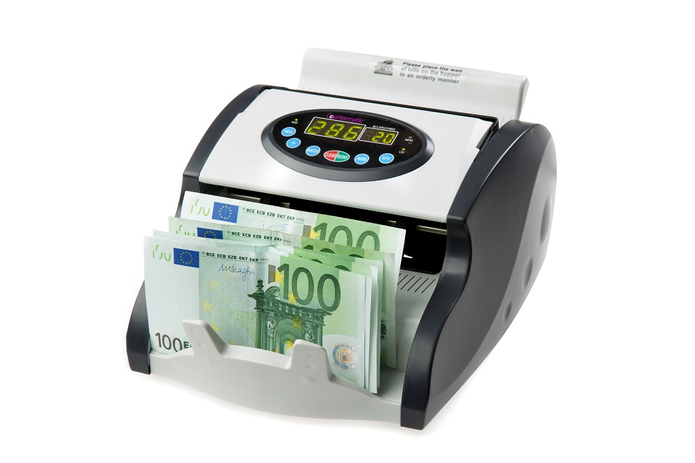 Countermatic 200CX Multicurrency Note Counter with Counterfeit Detection