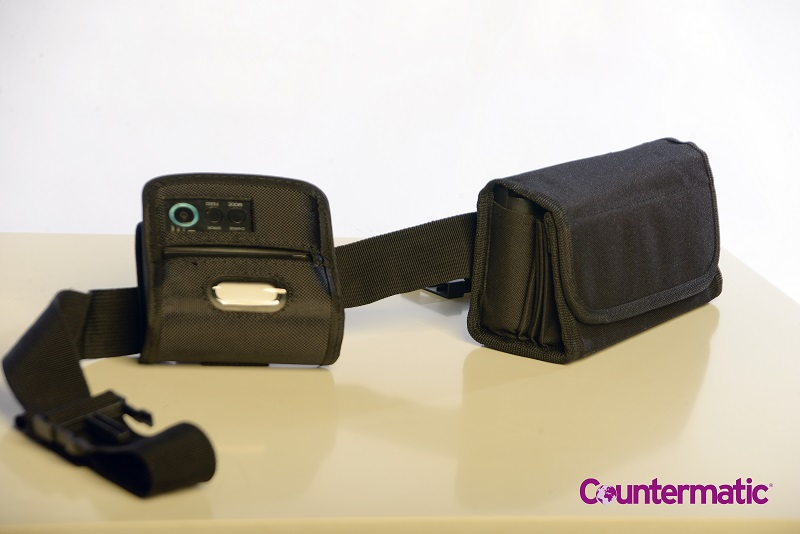 Cash Pouch with Bluetooth Printer
