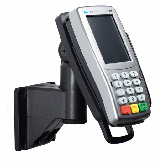 WALL VERIFONE PinPad STAND with Latch Lock