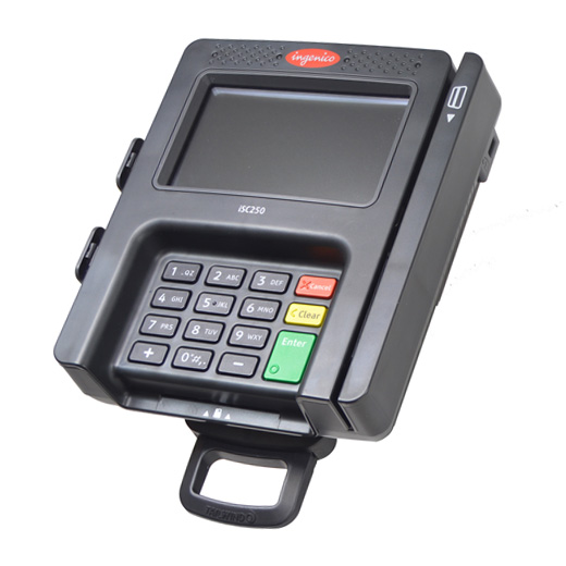 INGENICO ISC250 Card Payment Terminal Swivel Stand