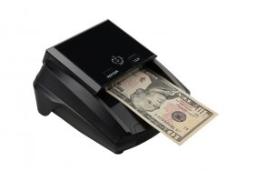 Counterfeit banknote detector for USD, EURO, GBP and CHF | Counterfeit detector for US Dolar