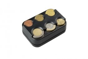 EURO Coin Dispenser  Sorter for 6 Euro Coins | Holders  Pouches