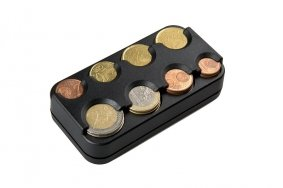 EURO Coin Dispenser  Sorter for 8 Euro Coins | Holders  Pouches