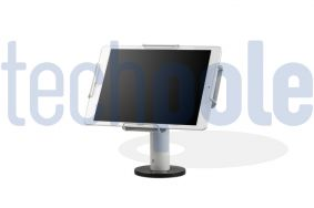 Soporte Tablet antirrobo universal en color blanco | Soportes Tablet Sobremesa
