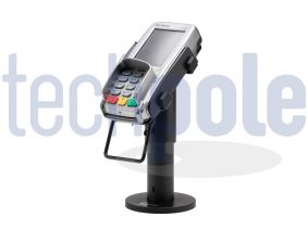 Verifone terminal and pin pad stand vx820,Vx805. Bespoke backplate included | Verifone terminal and pin pad stand.Robust Steel