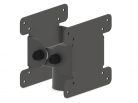Double monitor mounting solution VESA slot interface