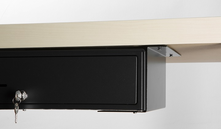 design undercounter secure under mounting organizer counter heckler register sink drawer with removable tray drawers bodhum organizers pact cash