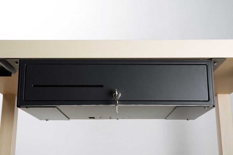 large sliding under products brackets vk drawers counter cash mk drawer fixing mounting for