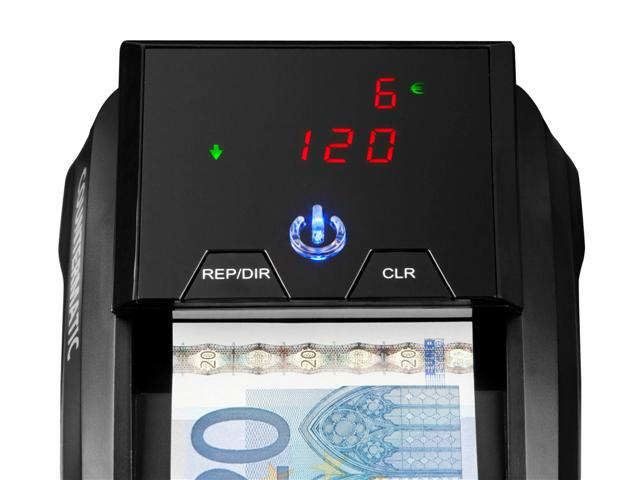 How to clean the counterfeit detector CHICAGO