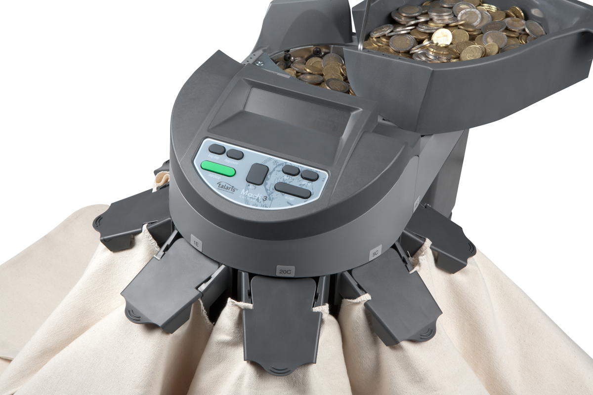 Coin Sorter Mach 3 for Euro Coins