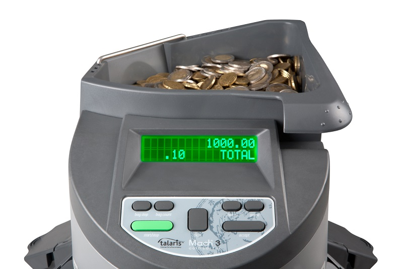 PROFESIONAL COIN COUNTER AND SORTER MACH 3