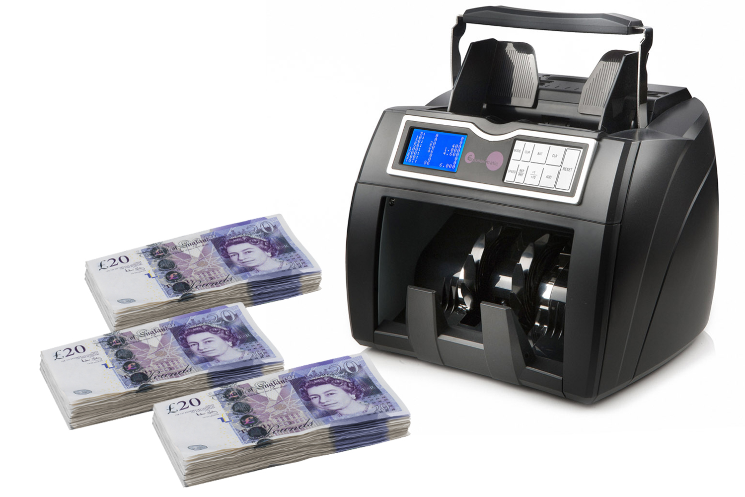 Multicurrency Banknote counter New Boston V/3DM