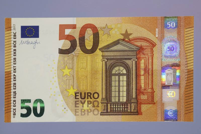 Biannual information euro bank note counterfeiting