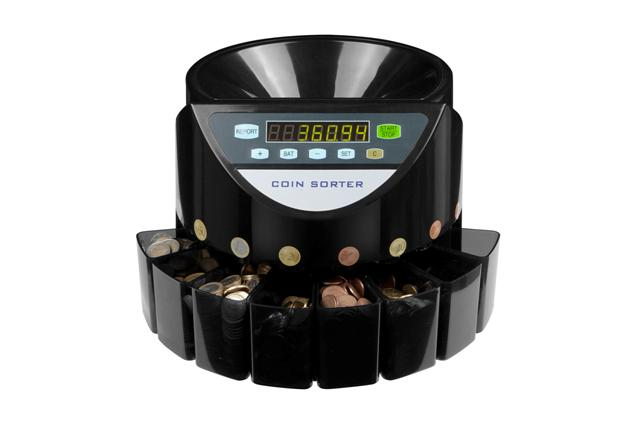 The coin sorter Counter 800 new on offer.
