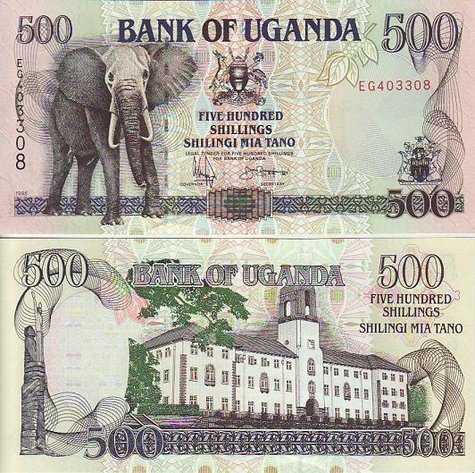 New Banknote Series for Uganda