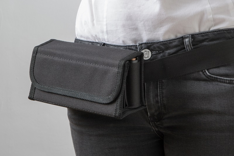 euro money wallet with belt