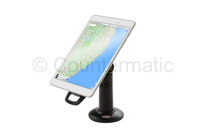 Lockable Tablet Stand Anti Theft, iPad, Samsung