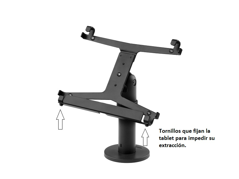 Soporte Tablet de seguridad para mostrador o pared