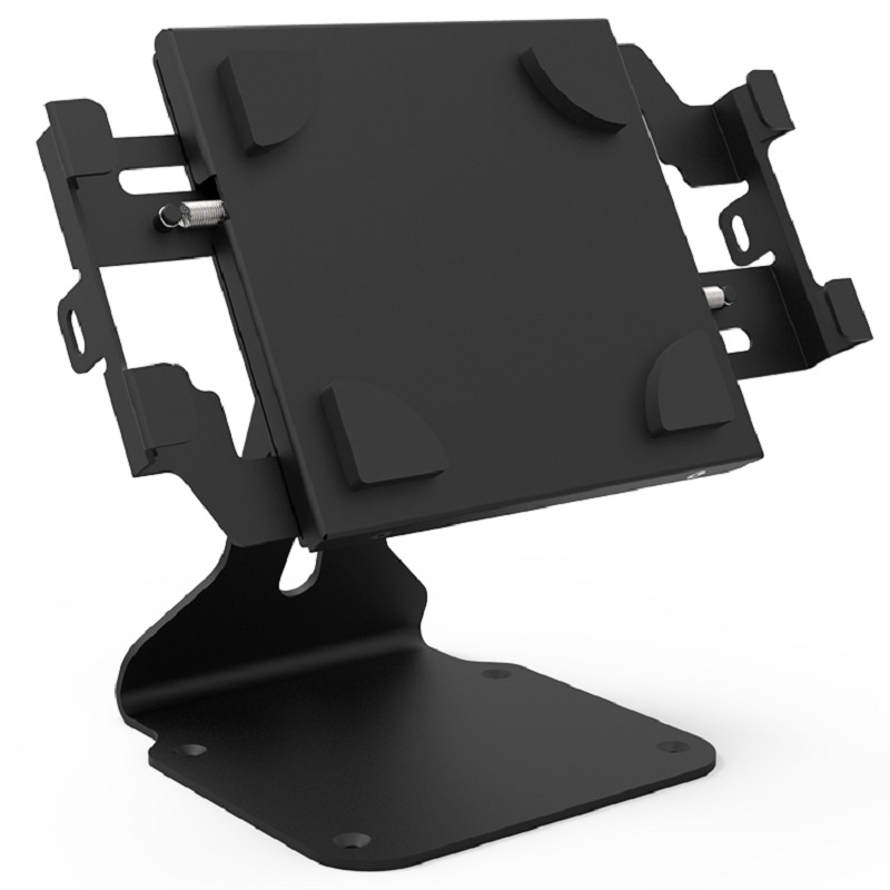 Universal tablet stand for stores