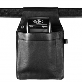 Leather Holster for waiters. Custom made for PDA, iPad Tablets, Samsung