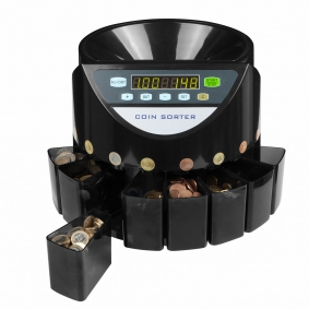 Coin Counter & Sorter Countermatic 800. How it works ?