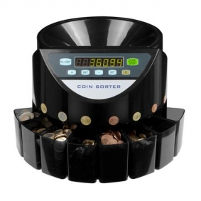 Coin Counting machine for small businesses, faster more accurate coin counting