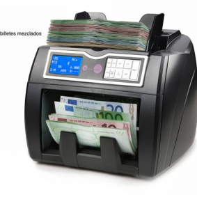 Second hand bank note counter.