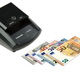 Counterfeit Detector for new Euro Notes