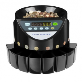 Where to buy coin sorters machines in Madrid and Barcelona.