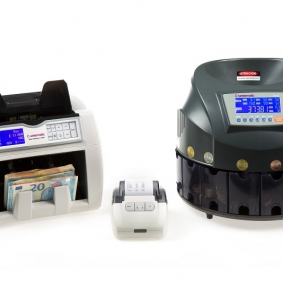 Banknote Counters and Coin Sorters with Printer