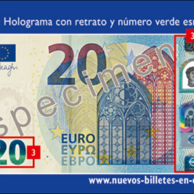 UPDATES NEW 20 EURO NOTES