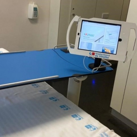Tablets stands for hospital rooms.